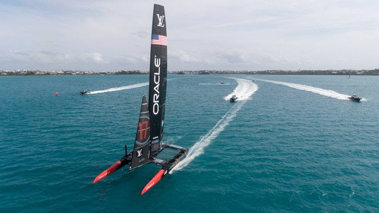 Oracle Team USA's competitive sailor's training is impacted by Ixcela's gut microbiome program